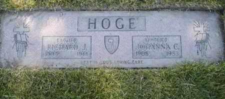 HOGE, JOHANNA C. - Geauga County, Ohio | JOHANNA C. HOGE - Ohio Gravestone Photos