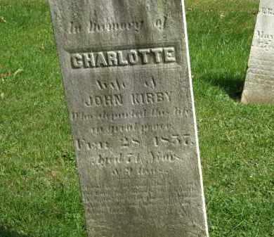 KIRBY, JOHN - Geauga County, Ohio | JOHN KIRBY - Ohio Gravestone Photos