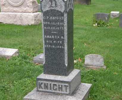 KNIGHT, C.P. - Geauga County, Ohio | C.P. KNIGHT - Ohio Gravestone Photos