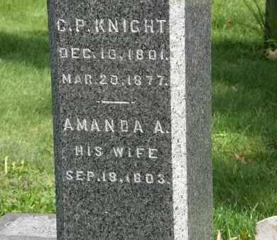 KNIGHT, AMANDA A. - Geauga County, Ohio   AMANDA A. KNIGHT - Ohio Gravestone Photos
