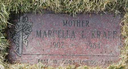 KRAPF, MARCELLA L. - Geauga County, Ohio | MARCELLA L. KRAPF - Ohio Gravestone Photos