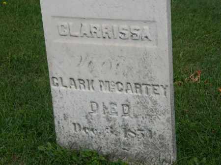 MCCARTEY, CLARK - Geauga County, Ohio | CLARK MCCARTEY - Ohio Gravestone Photos