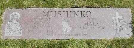 MUSHINKO, PETER - Geauga County, Ohio   PETER MUSHINKO - Ohio Gravestone Photos