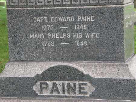 PAINE, CAPT. EDWARD - Geauga County, Ohio   CAPT. EDWARD PAINE - Ohio Gravestone Photos
