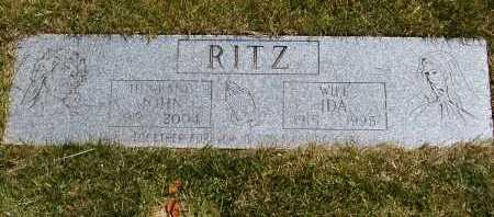 RITZ, JOHN - Geauga County, Ohio | JOHN RITZ - Ohio Gravestone Photos