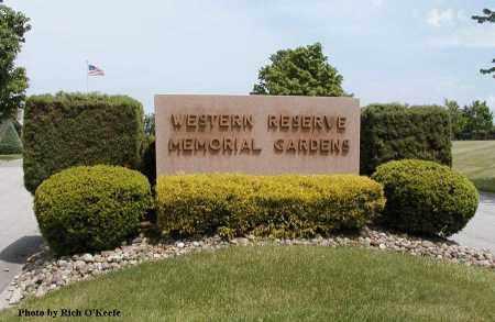 SIGN, CEMETERY - Geauga County, Ohio   CEMETERY SIGN - Ohio Gravestone Photos