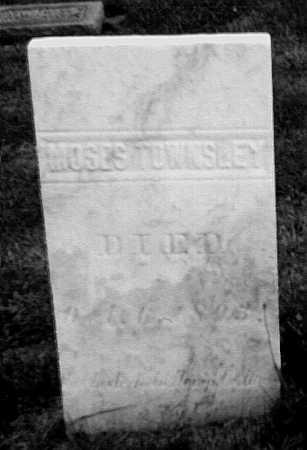 TOWNSLEY, MOSES - Geauga County, Ohio | MOSES TOWNSLEY - Ohio Gravestone Photos