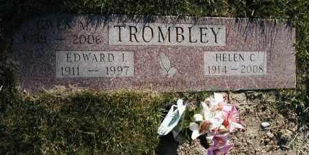 CAINE TROMBLEY, HELEN M. - Geauga County, Ohio | HELEN M. CAINE TROMBLEY - Ohio Gravestone Photos