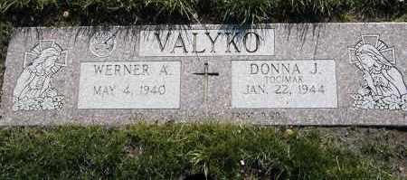 VALYKO, WERNER A. - Geauga County, Ohio   WERNER A. VALYKO - Ohio Gravestone Photos