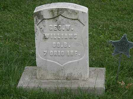 WILLIAMS, GEO. W. - Geauga County, Ohio | GEO. W. WILLIAMS - Ohio Gravestone Photos