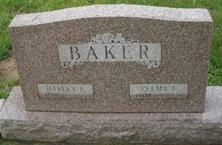 BAKER, ZELMA E. - Greene County, Ohio | ZELMA E. BAKER - Ohio Gravestone Photos
