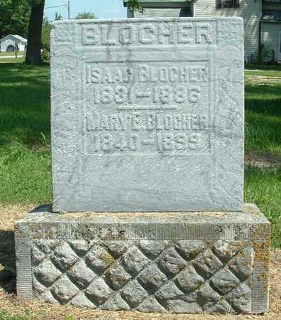 BLOCHER, MARY E. - Greene County, Ohio | MARY E. BLOCHER - Ohio Gravestone Photos