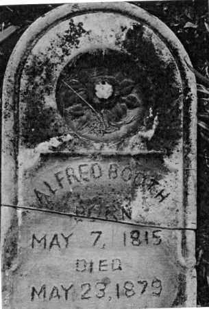 BOOTH, ALFRED - Greene County, Ohio | ALFRED BOOTH - Ohio Gravestone Photos