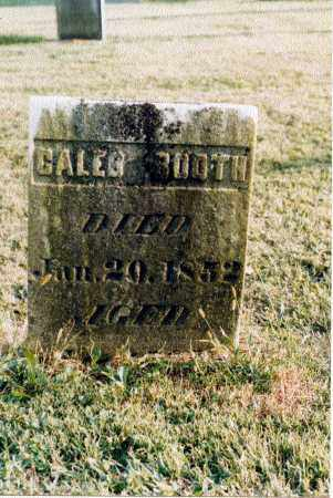 BOOTH, CALEB JR. - Greene County, Ohio | CALEB JR. BOOTH - Ohio Gravestone Photos