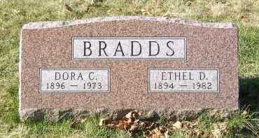 BRADDS, DORA C. - Greene County, Ohio | DORA C. BRADDS - Ohio Gravestone Photos