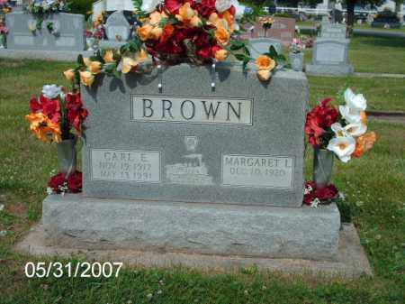 BROWN, CARL E. - Greene County, Ohio | CARL E. BROWN - Ohio Gravestone Photos