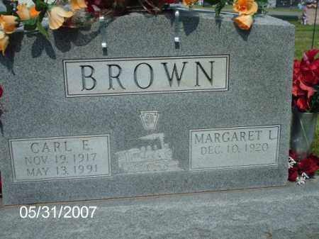 BROWN, CARL  EASLEY - Greene County, Ohio   CARL  EASLEY BROWN - Ohio Gravestone Photos
