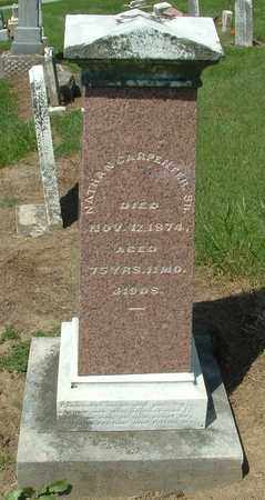 CARPENTER, SR., NATHAN - Greene County, Ohio   NATHAN CARPENTER, SR. - Ohio Gravestone Photos