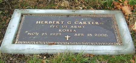 CARTER, HERBERT GENE - Greene County, Ohio   HERBERT GENE CARTER - Ohio Gravestone Photos