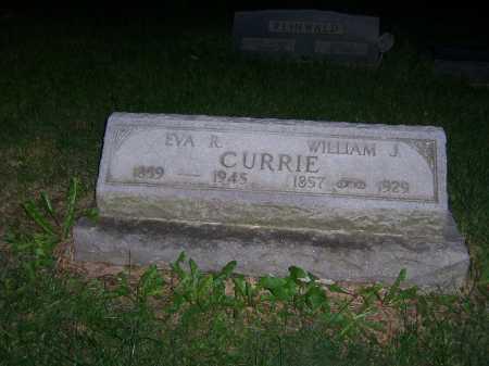 CURRIE, EVA - Greene County, Ohio   EVA CURRIE - Ohio Gravestone Photos