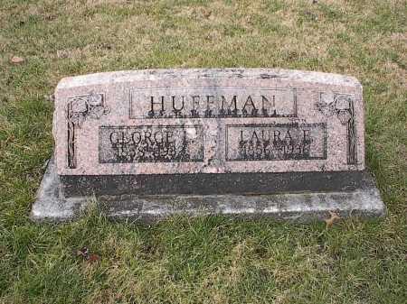 SHEPARD HUFFMAN, LAURA EMMA - Greene County, Ohio | LAURA EMMA SHEPARD HUFFMAN - Ohio Gravestone Photos