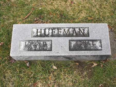 HUFFMAN, EDNA - Greene County, Ohio | EDNA HUFFMAN - Ohio Gravestone Photos