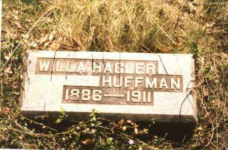 HAGLER HUFFMAN, WILLA - Greene County, Ohio | WILLA HAGLER HUFFMAN - Ohio Gravestone Photos