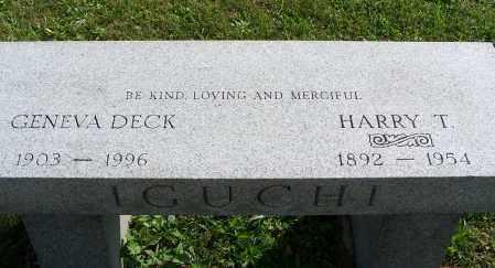 IGUCHI, HARRY T - Greene County, Ohio | HARRY T IGUCHI - Ohio Gravestone Photos