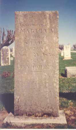 LAMB, MARTHA A. - Greene County, Ohio | MARTHA A. LAMB - Ohio Gravestone Photos