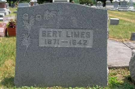 LIMES, BERT - Greene County, Ohio | BERT LIMES - Ohio Gravestone Photos