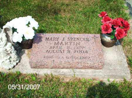 SPENCER MARTIN, MARY J. - Greene County, Ohio | MARY J. SPENCER MARTIN - Ohio Gravestone Photos