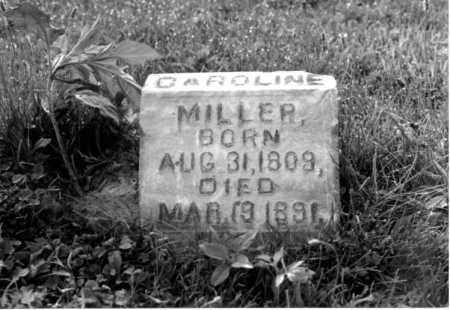 WILSON MILLER, CAROLINE - Greene County, Ohio   CAROLINE WILSON MILLER - Ohio Gravestone Photos