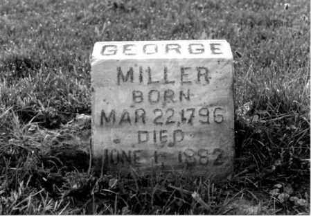 MILLER, GEORGE C. - Greene County, Ohio | GEORGE C. MILLER - Ohio Gravestone Photos