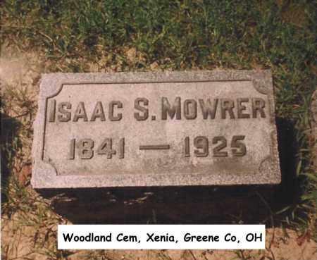 MOWRER, ISAAC - Greene County, Ohio   ISAAC MOWRER - Ohio Gravestone Photos