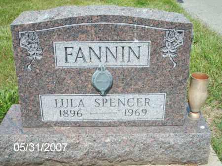 ADKINS SPENCER / FANNIN, LULA - Greene County, Ohio | LULA ADKINS SPENCER / FANNIN - Ohio Gravestone Photos