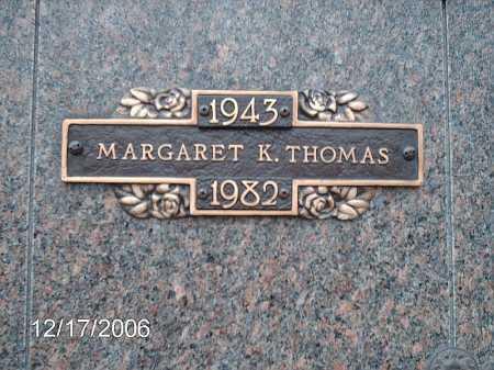 THOMAS, MARGARET - Greene County, Ohio | MARGARET THOMAS - Ohio Gravestone Photos