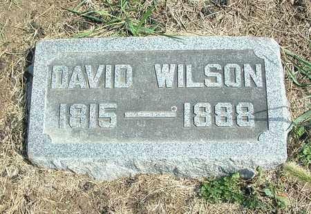 WILSON, DAVID - Greene County, Ohio | DAVID WILSON - Ohio Gravestone Photos