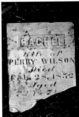THOMAS WILSON, RACHEL - Greene County, Ohio   RACHEL THOMAS WILSON - Ohio Gravestone Photos