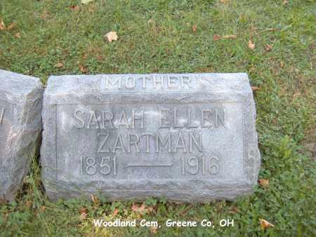 ZARTMAN, SARAH - Greene County, Ohio | SARAH ZARTMAN - Ohio Gravestone Photos