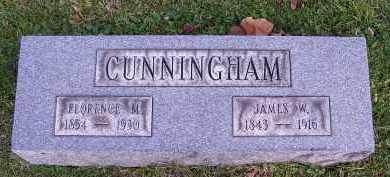 CUNNINGHAM, FLORENCE ALMIRA - Guernsey County, Ohio | FLORENCE ALMIRA CUNNINGHAM - Ohio Gravestone Photos