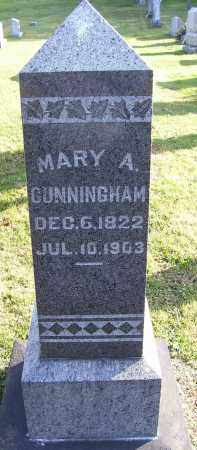 CUNNINGHAM, MARY ANN - Guernsey County, Ohio | MARY ANN CUNNINGHAM - Ohio Gravestone Photos