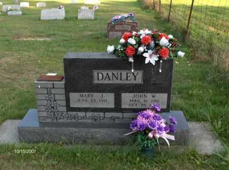 DANLEY, MARY J - Guernsey County, Ohio | MARY J DANLEY - Ohio Gravestone Photos