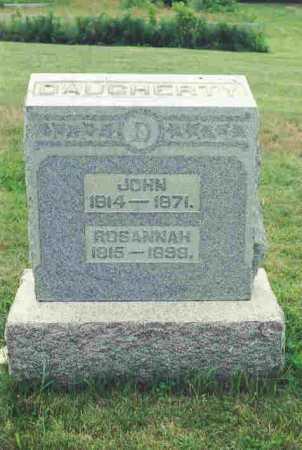 HINDS DAUGHERTY, ROSANNAH - Guernsey County, Ohio | ROSANNAH HINDS DAUGHERTY - Ohio Gravestone Photos