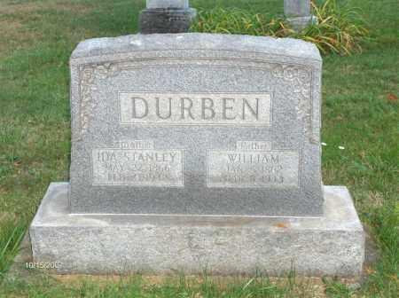 DURBEN, WILLIAM - Guernsey County, Ohio | WILLIAM DURBEN - Ohio Gravestone Photos