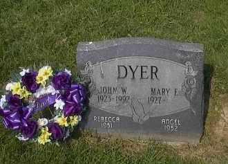 DYER, JOHN - Guernsey County, Ohio | JOHN DYER - Ohio Gravestone Photos