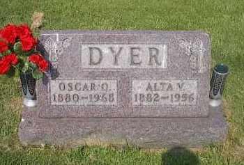 DYER, OSCAR O. - Guernsey County, Ohio | OSCAR O. DYER - Ohio Gravestone Photos