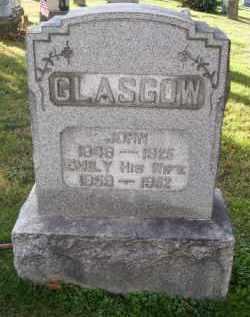 GLASGOW, JOHN - Guernsey County, Ohio   JOHN GLASGOW - Ohio Gravestone Photos