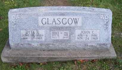 GLASGOW, PAUL TIEL - Guernsey County, Ohio | PAUL TIEL GLASGOW - Ohio Gravestone Photos
