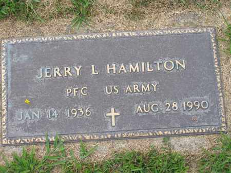 HAMILTON, JERRY - Guernsey County, Ohio | JERRY HAMILTON - Ohio Gravestone Photos
