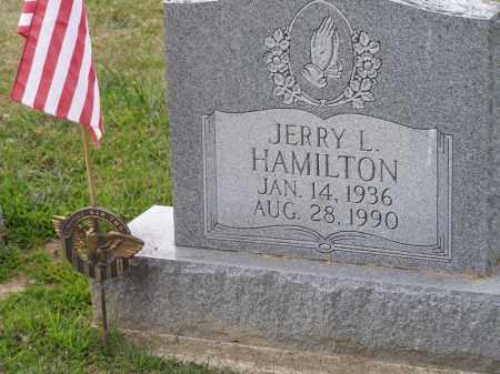 HAMILTON, JERRY L. - Guernsey County, Ohio | JERRY L. HAMILTON - Ohio Gravestone Photos